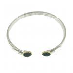 collana tubogas argento agate verdi green agate necklace discount codice sconto