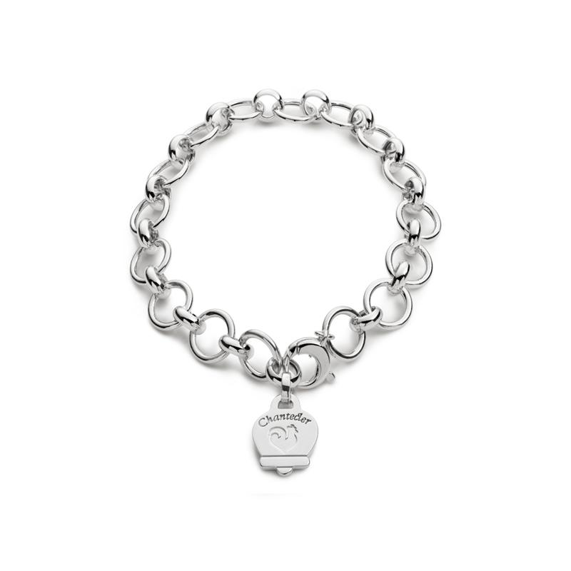 chantecler bracciale logo bracelet silver discount sconto