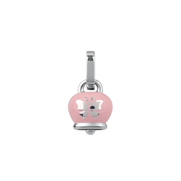 Chantecler Ciondolo campanella media rosa farfalla