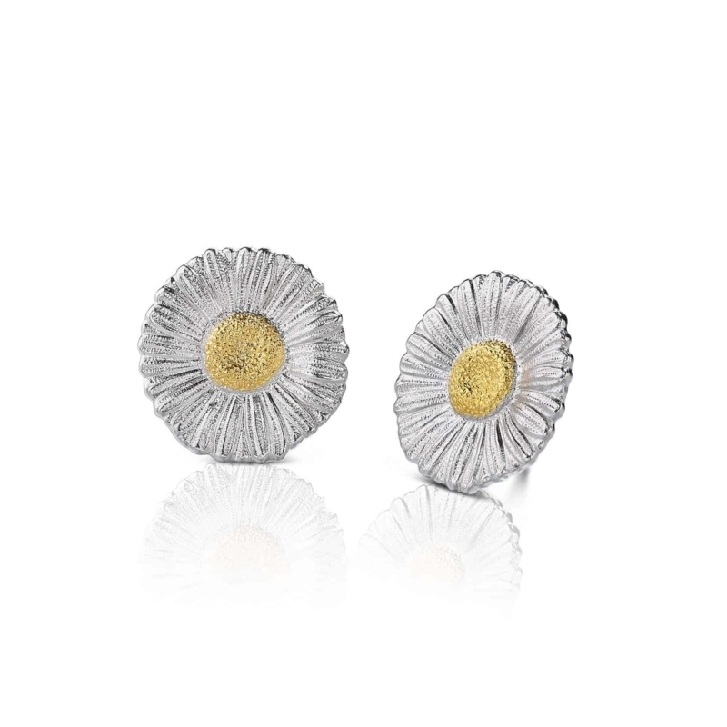 SOFRMRGLB orecchini daysy medi silver buccellati earrings sconto discount