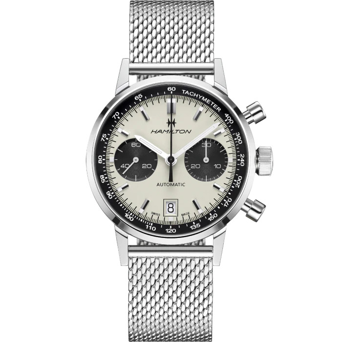 h38416111 orologio hamilton american classic intra matic blu watch sconto discount